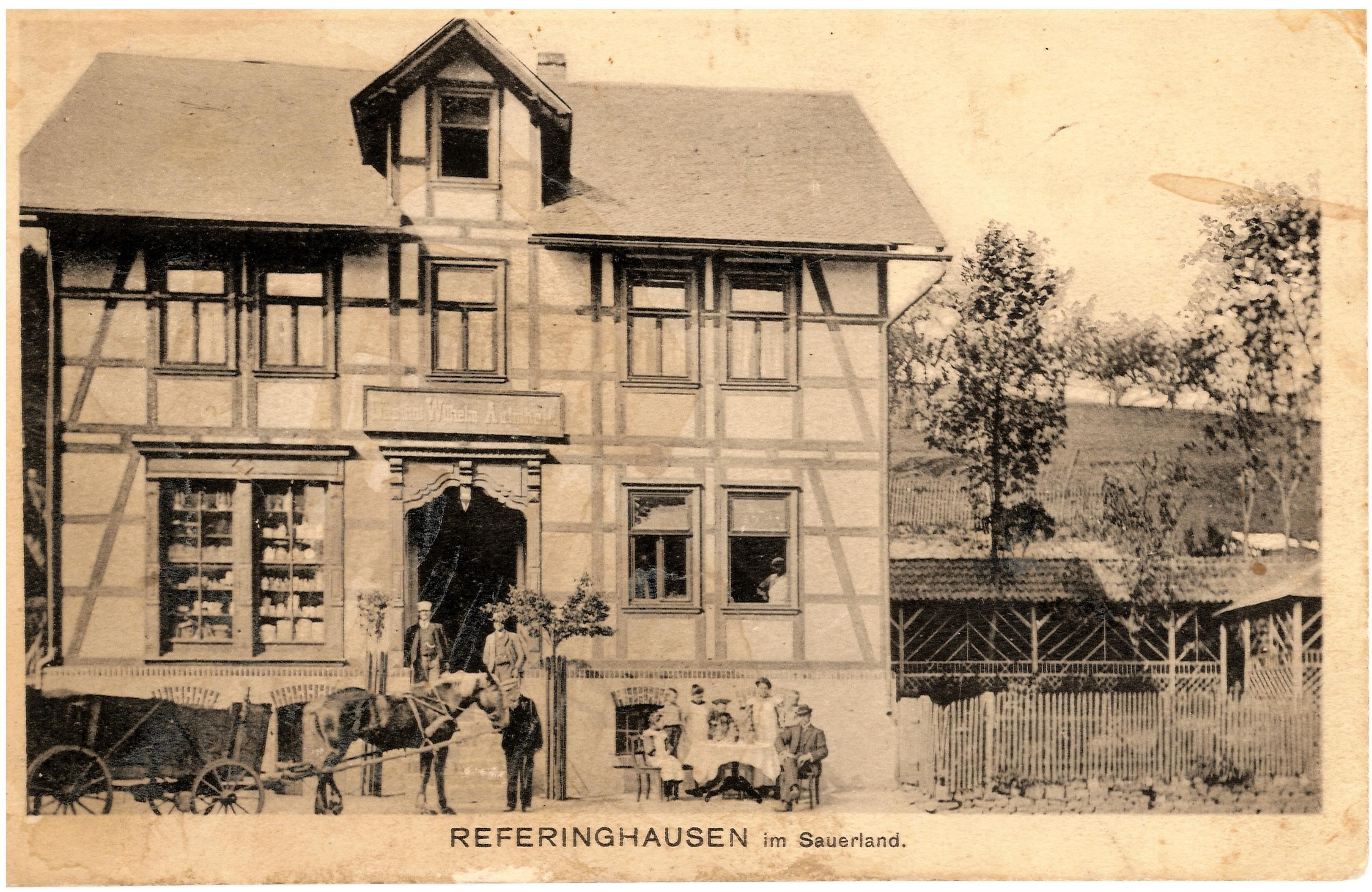 Gasthaus Wilhelm Aufmhoff (Heruses)