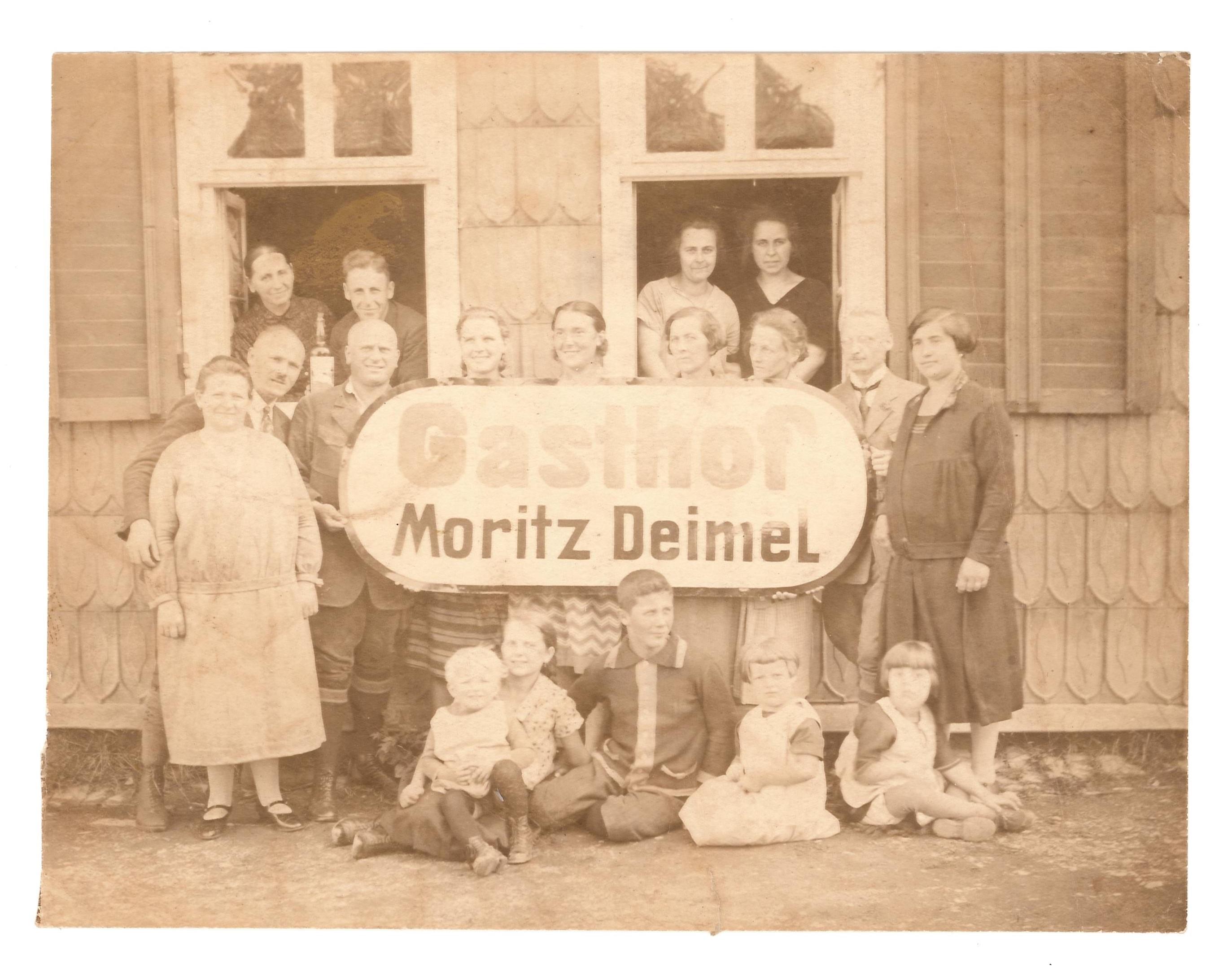 Gasthof Moritz Deimel 1920
