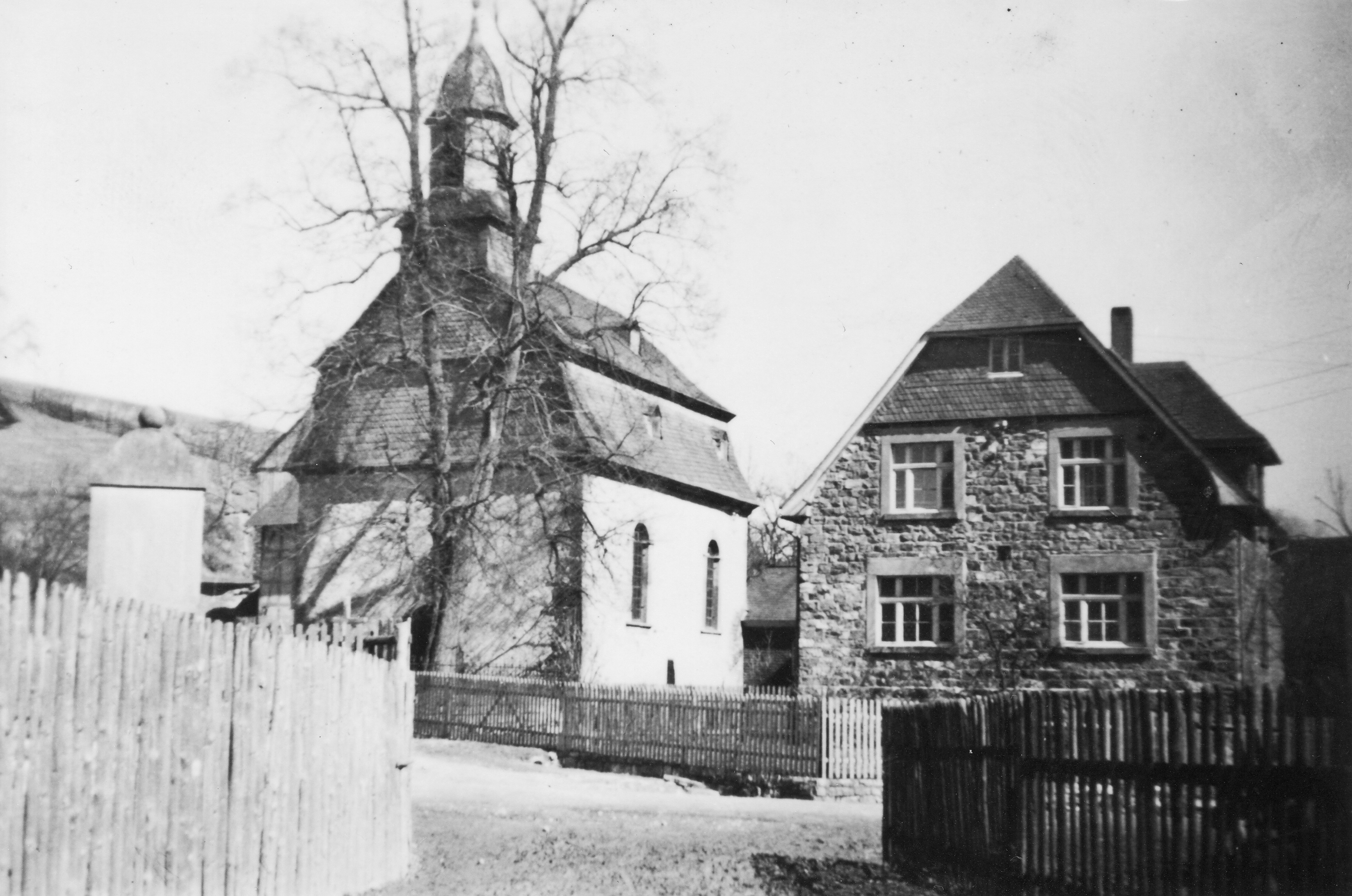 Kirche vor dem Turmanbau