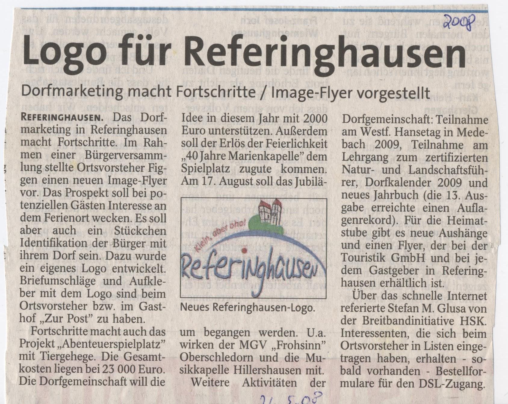 Logo für Referinghausen