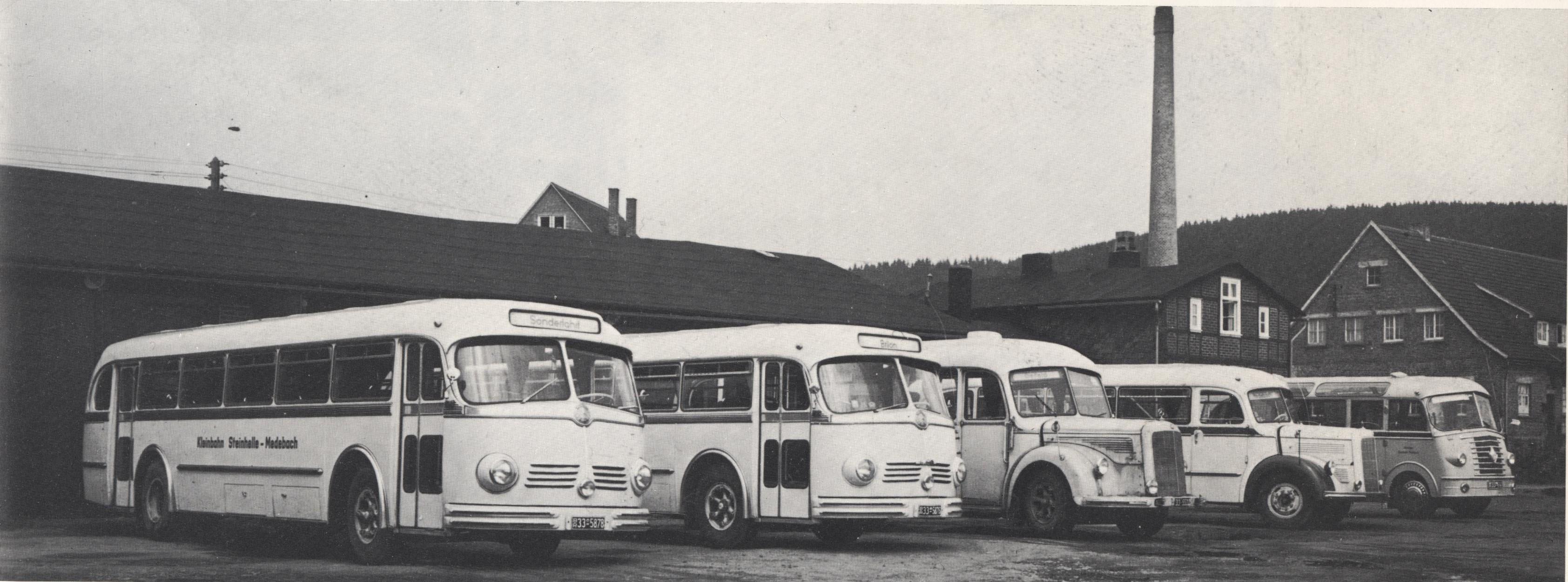 Busse von 1977