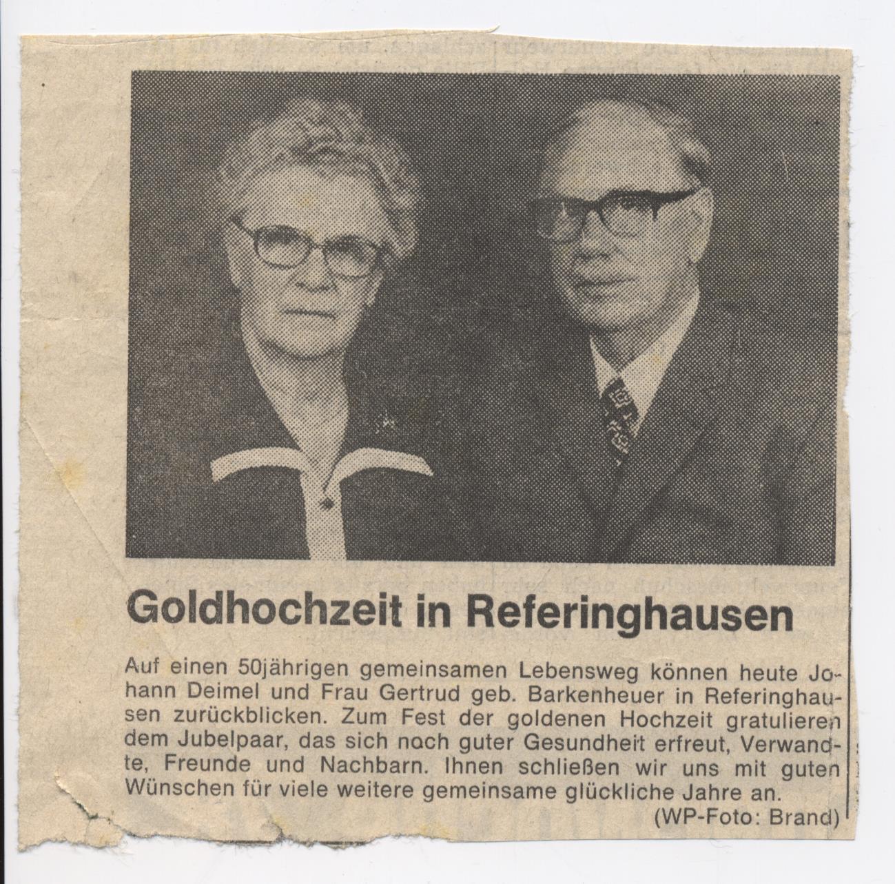 Goldhochzeit