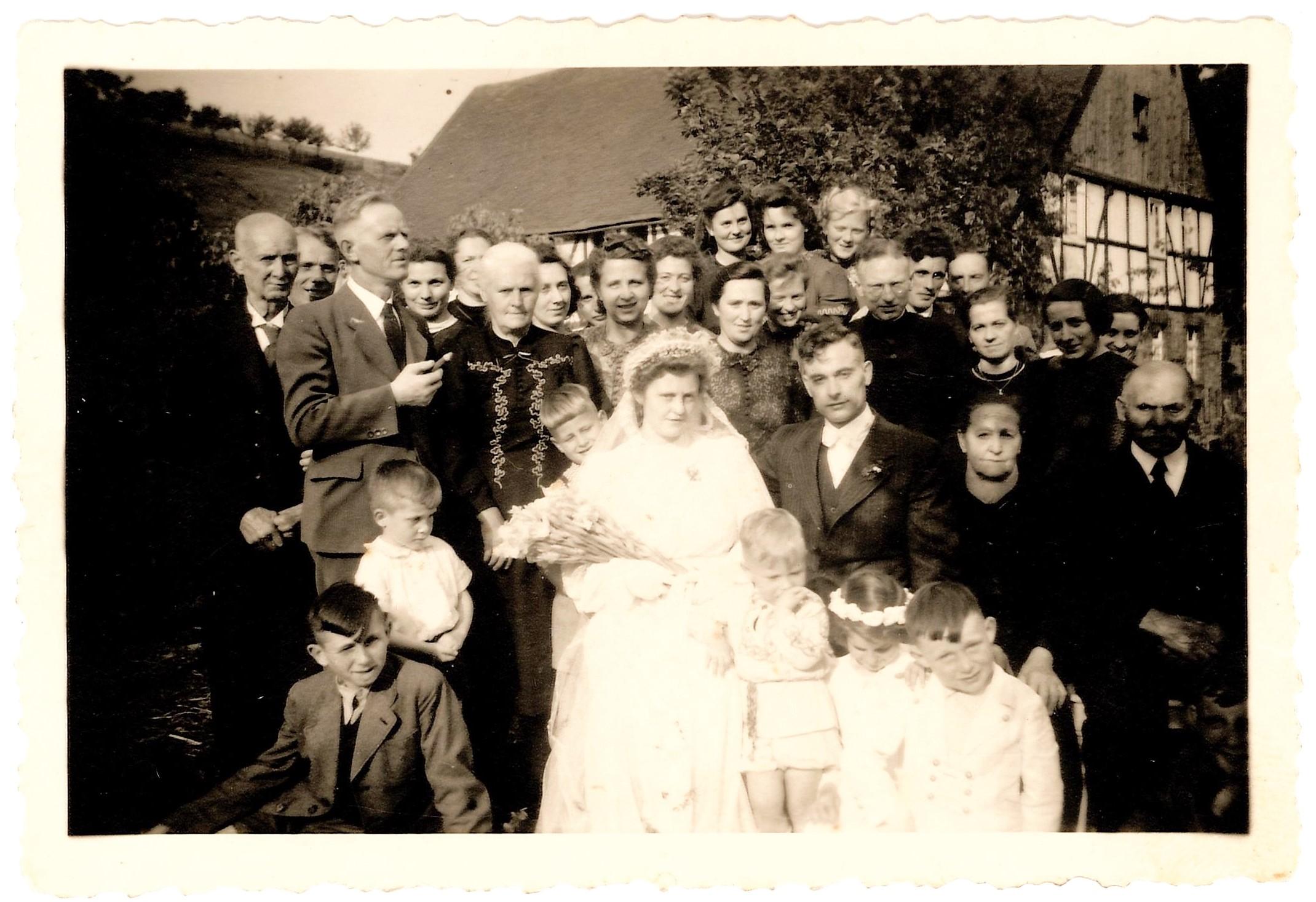 Hochzeit Georg und Paula Decker