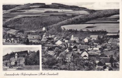 Postkarte Referinghausen Ansicht