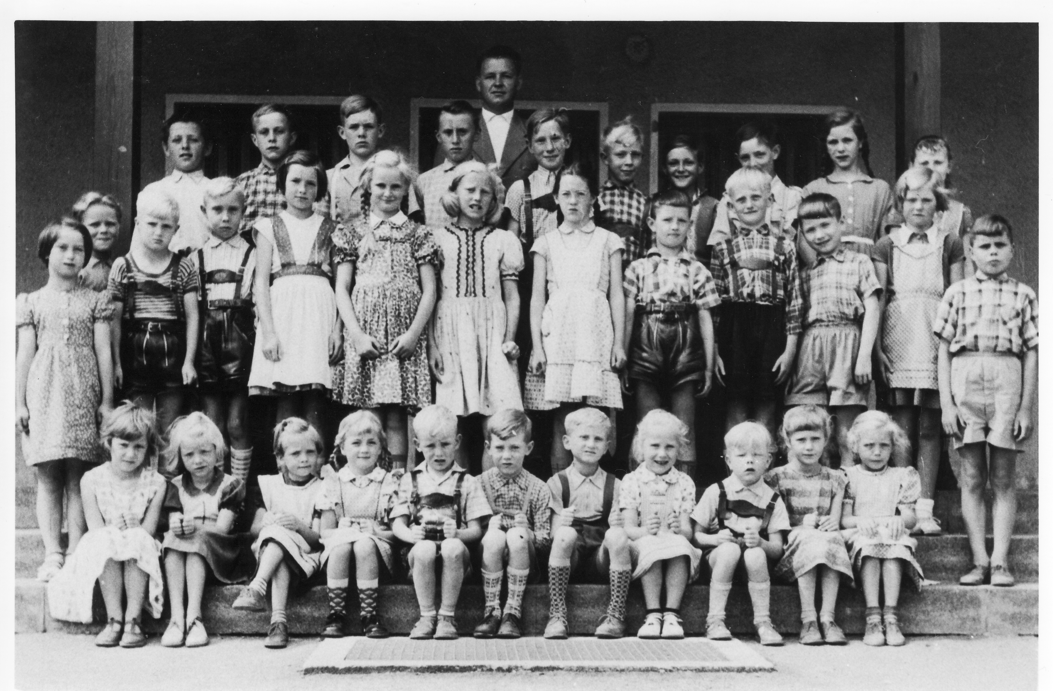 Schulklasse 1958